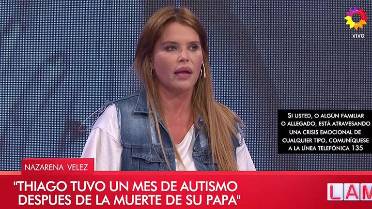 Desafortunada declaración de Nazarena sobre el autismo
