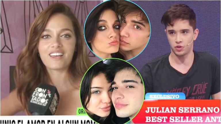 La reacción de Julián Serrano luego de que Oriana confesara sentirse celosa por su noviazgo con Malena Narvay