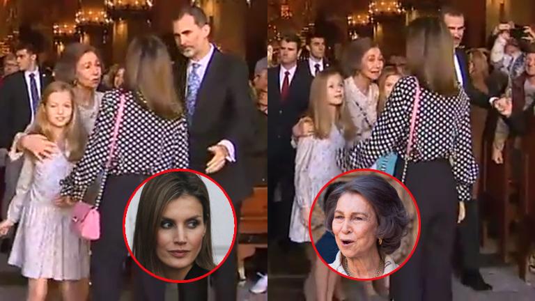 Escándalo entre la reina Letizia y doña Sofía de España