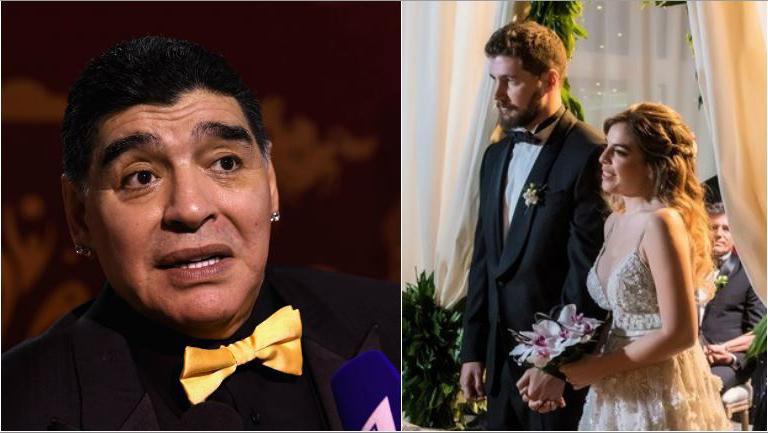 Diego Maradona habló sobre su ausencia al casamiento de Dalma