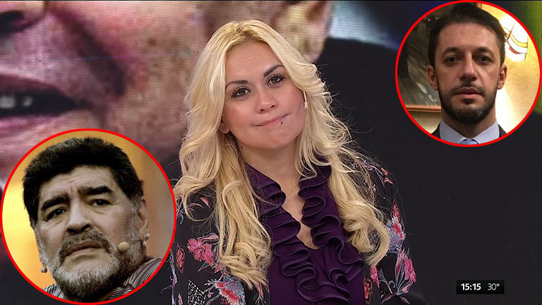 Diego Maradona hizo interrumpir Intrusos para anunciar que demandará a Verónica Ojeda