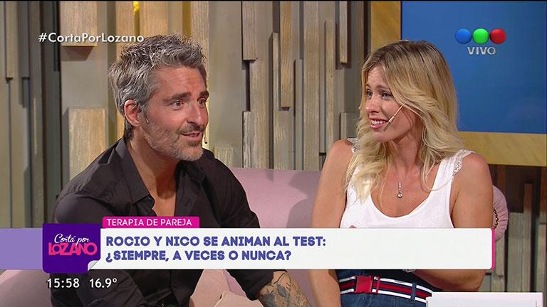 Rocío Guirao Díaz mandó al frente a Nicolás Paladini con una infidencia hot