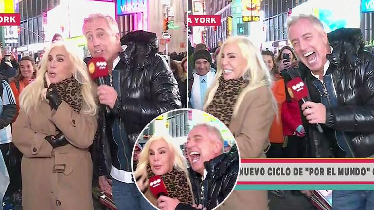 El divertido debut de Por el mundo: Marley junto a Susana en la helada Nueva York