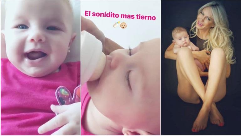 El tierno video de Luciana Salazar con Matilda
