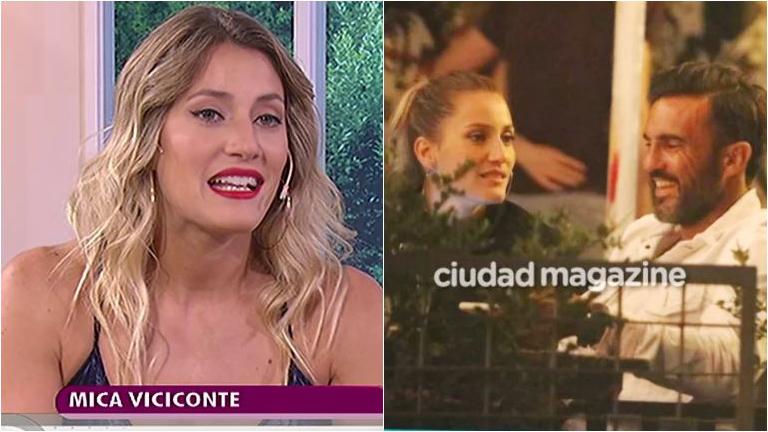 Mica Viciconte, sobre el inicio de su romance con Fabián Cubero: