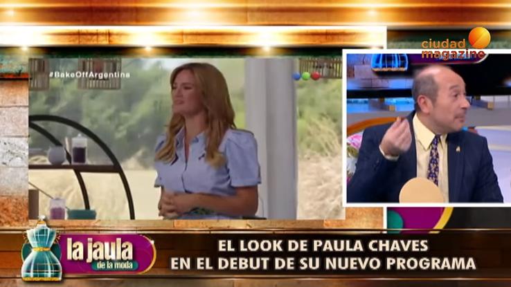 Claudio Cosano sobre el look de Paula Chaves: