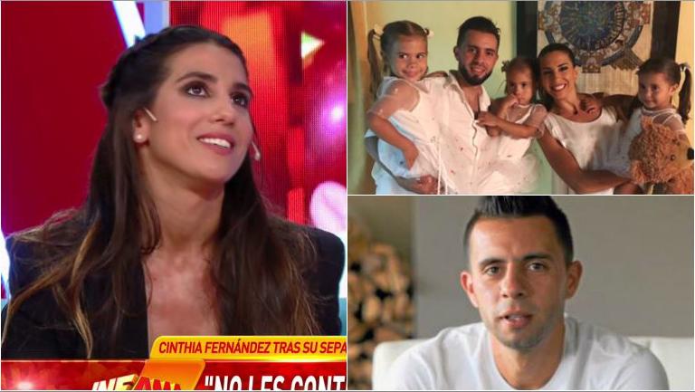 Cinthia Fernández, conmovida por lo que le pidió su hija menor para Defederico: