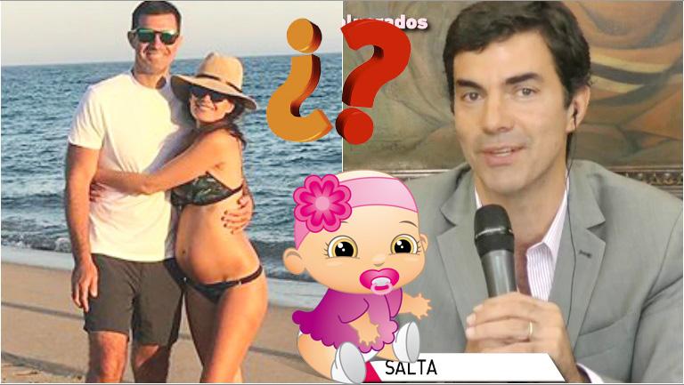 El motivo por el que Juan Manuel Urtubey e Isabel Macedo no eligieron el nombre de su beba en camino
