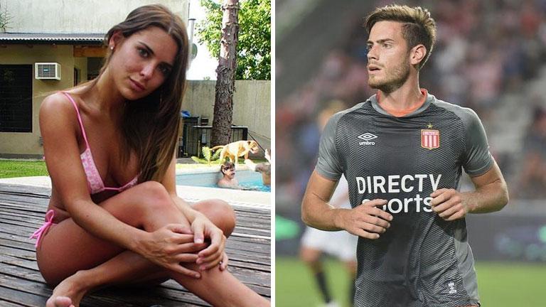 Mina Bonino habló del rumor de romance con el delantero Lucas Melano
