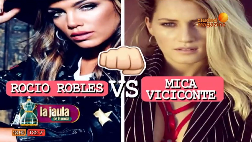Rocío Robles vs. Mica Viciconte