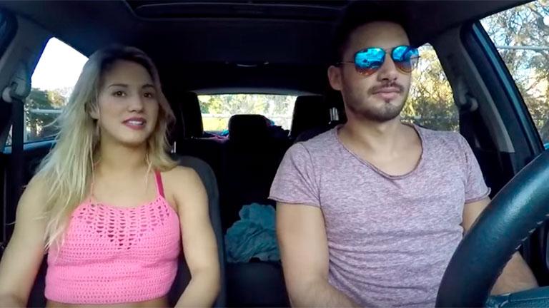 Flor Vigna y su novio víctimas de ¿un intento de secuestro?