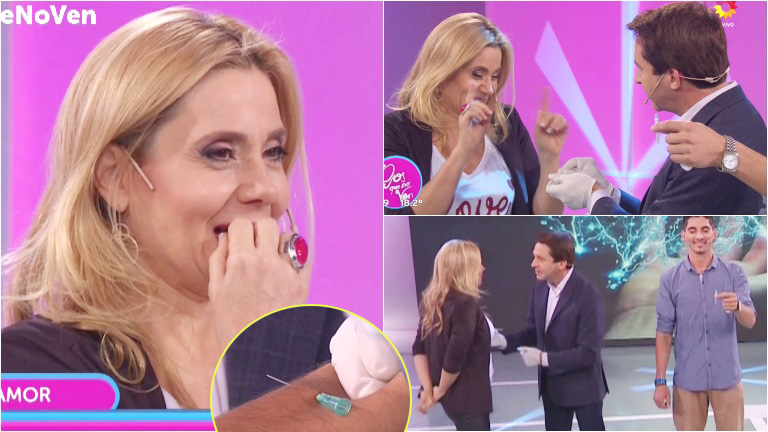 El mal momento de Andrea Politti con Tony Kamo en el aire de Ojos que no ven