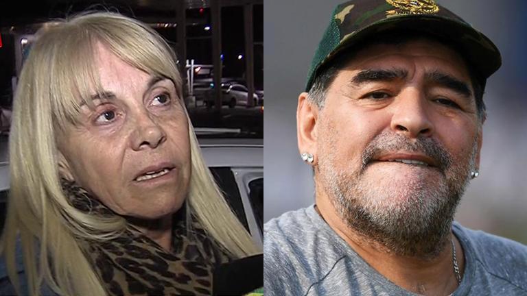 Claudia Villafañe iniciará acciones legales contra Diego Maradona