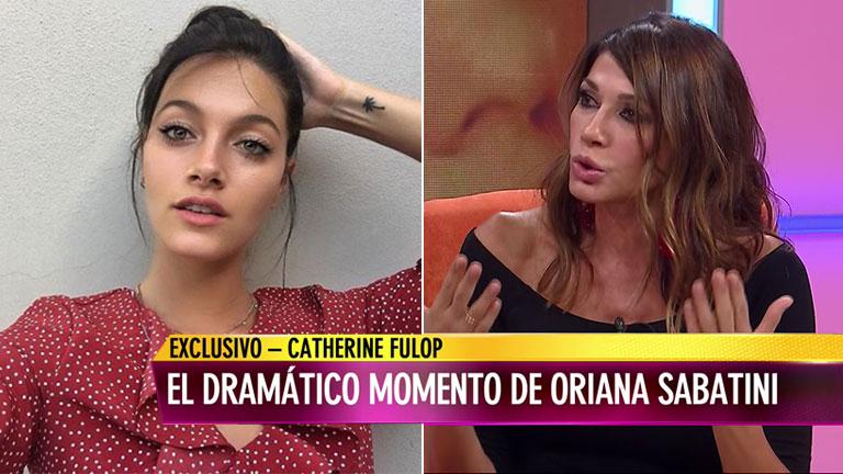 Oriana Sabatini y un viaje en remís para el infarto — Mal momento