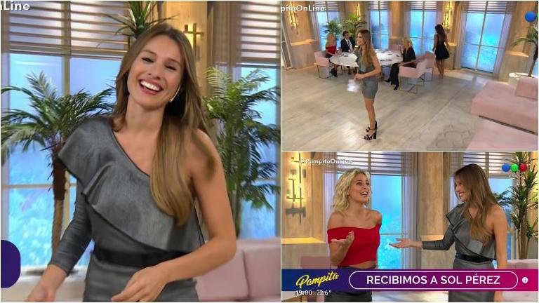 Así comenzó Pampita Online en Telefe