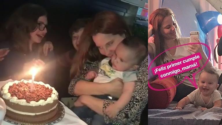 Agustina Kämpfer celebró su cumpleaños