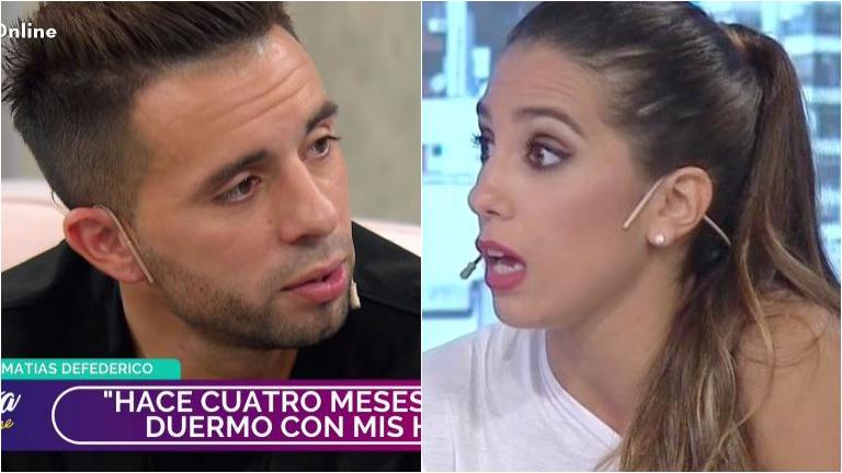 Matías Defederico relevó por qué le pidió el divorcio a Cinthia Fernández