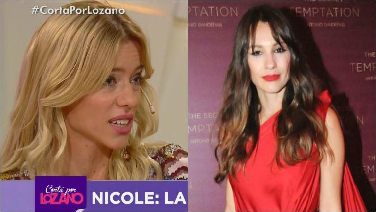 Nicole Neumann, durísima con Pampita: