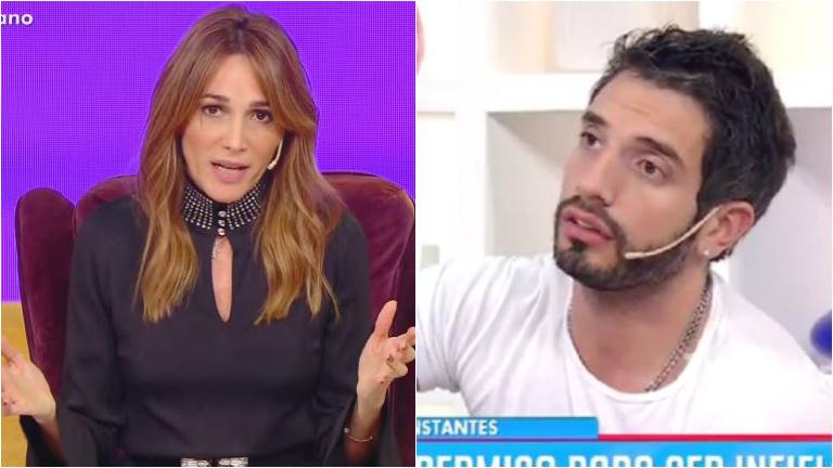 Verónica Lozano habló de la viralización de imágenes íntimas de Juan Cruz Sanz: