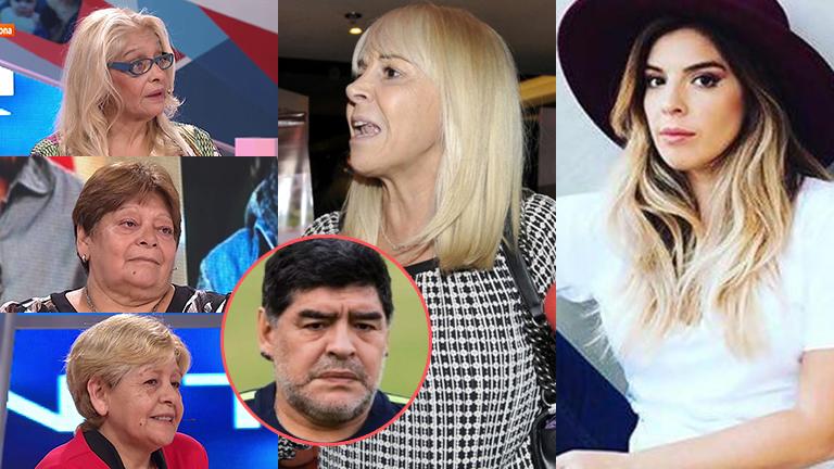 Las hermanas de Diego Maradona visitaron Intrusos