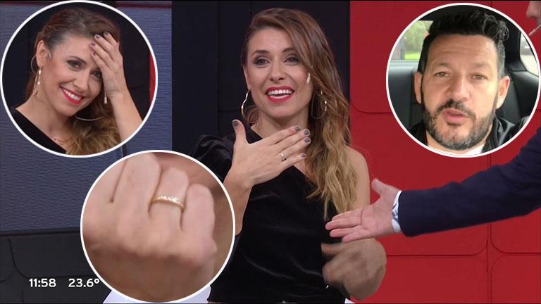 ¡Propuesta en vivo! El novio de Mariana Brey le pidió casamiento