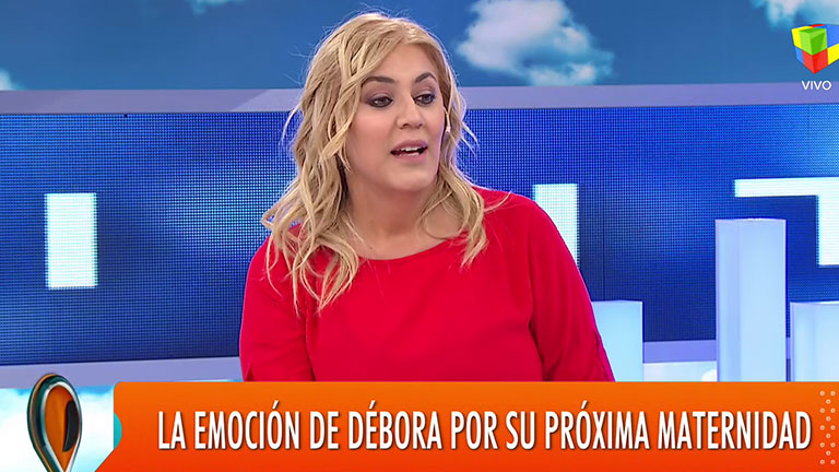 La periodista Débora D'Amato contó que será mamá a los 45 años