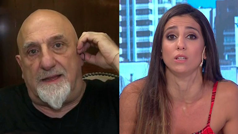 Tenso cruce entre Juan Acosta y Cinthia Fernández