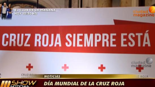Cena anual de la Cruz Roja Argentina