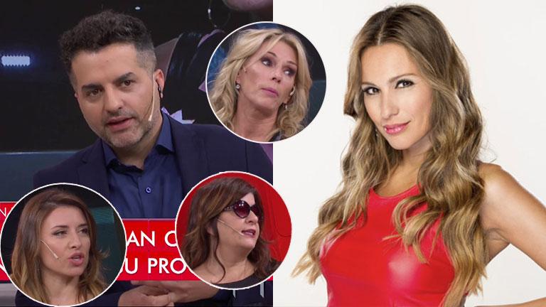 """Tremenda crítica a Pampita en el panel de LAM y la """"defensa"""" de De Brito: """"¡Qué malas son con ella!"""""""
