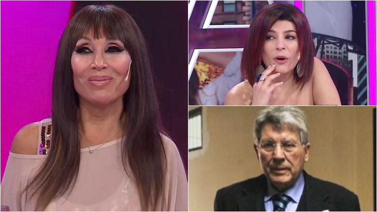 Explosiva confesión de Moria Casán a una de sus panelistas