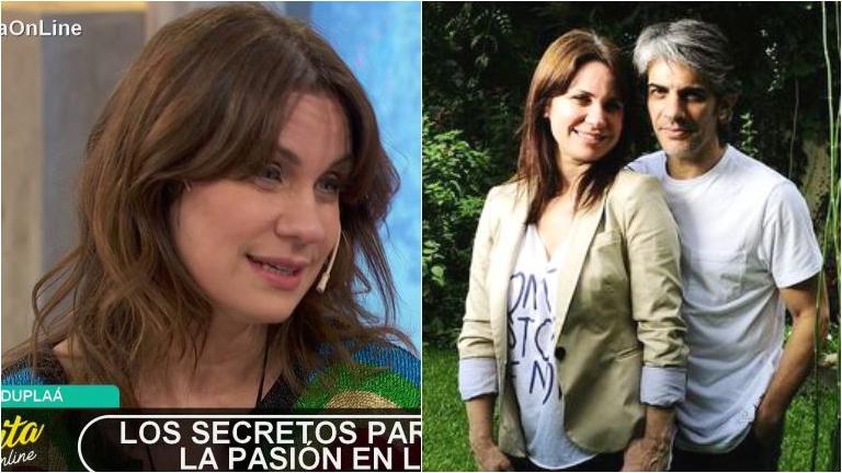 Nancy Dupláa contó cuáles son los disfraces que eligen con Pablo Echarri en la intimidad: