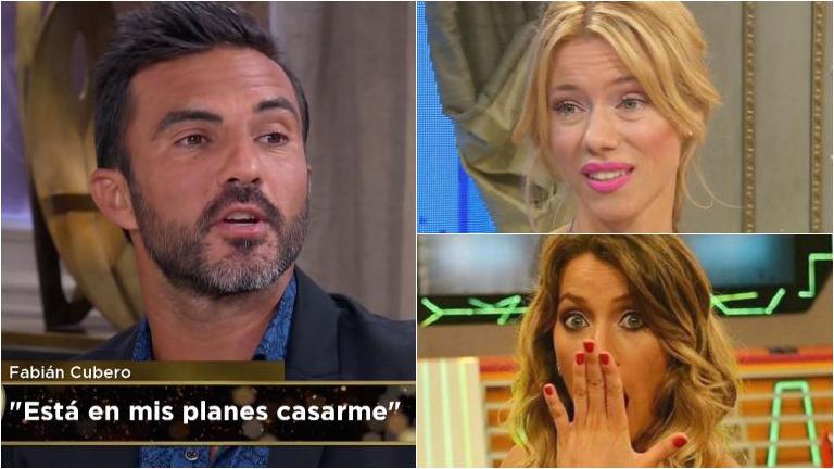 Resultado de imagen para Fabián Cubero, en medio de la guerra entre Nicole y Viciconte: Mica está cuidando a las nenas
