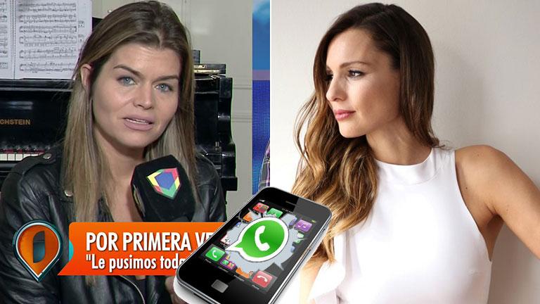 Resultado de imagen para Llamativa respuesta de Pampita a su mejor amiga y panelista cuando le preguntó por el final de Pampita Online