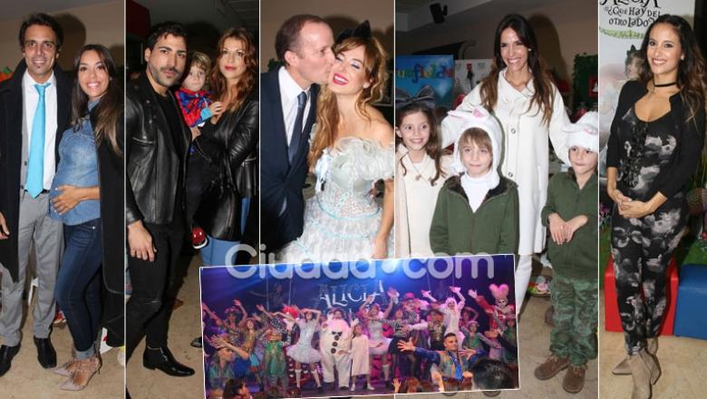 Famosos, parejitas y futuras mamis en el estreno de Alicia #¿Qué hay del otro lado? (Foto: Movilpress)