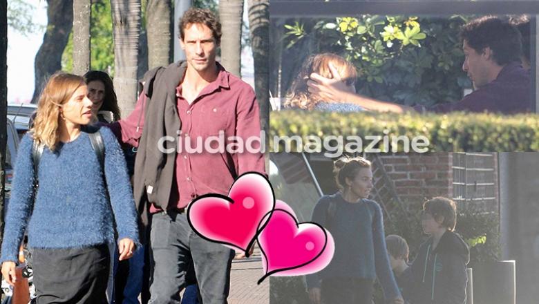 Gonzalo Valenzuela y María Gracia Omegna, juntos en Buenos Aires (Fotos: Movipress).