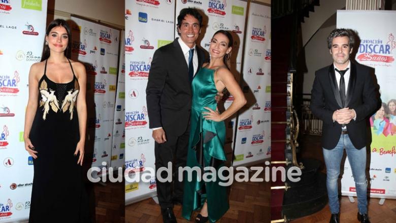 Show de famosos en la gala de Discar. Foto; Movilpress.