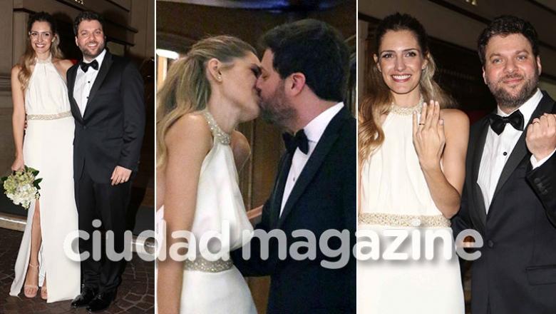 Las fotos del casamiento de Guido Kaczka y Soledad Rodríguez. (Foto: Movilpress)