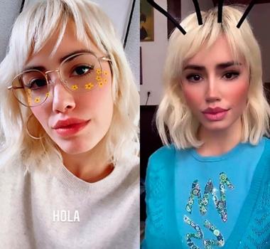 Resultado de imagen de Lali Espósito se cambió el look, apostó al pelo corto y al flequillo