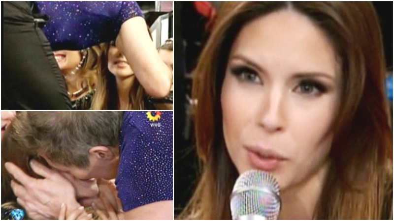 El desplante en vivo de Barby Franco a Fernando Burlando en ShowMatch (Fotos: Captura)