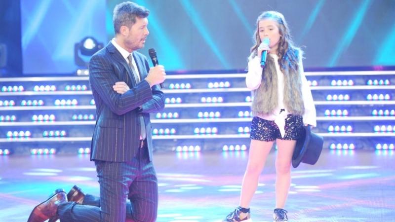 Máxima Tella emocionó a todos en ShowMatch con su talento para el canto (Foto: Prensa Ideas del Sur)