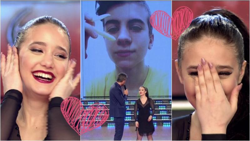 Ángela Torres contó en ShowMatch que está enamorada. Foto: Captura