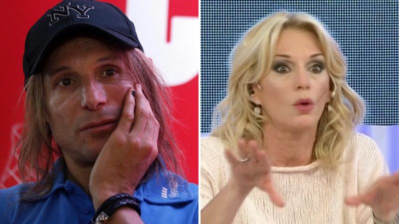 Yanina Latorre acusó a Claudio Caniggia de amenazarla: