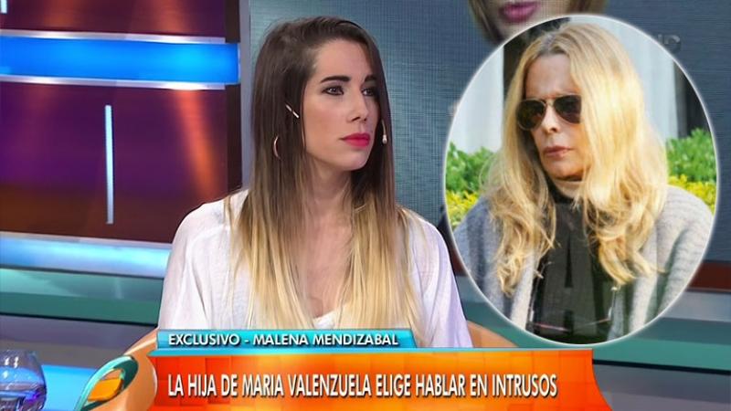 Malena contó los motivos de la profunda depresión de su madre, María Valenzuela (Foto: web y revista Caras)