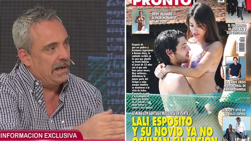 La explicación de Fernando Cerolini para publicar las fotos de Lali Espósito y Santiago Mocorrea
