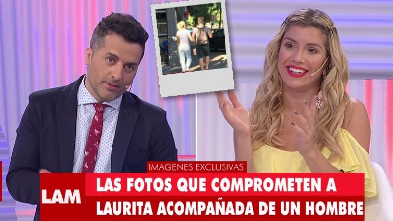 De Brito mostró una foto infraganti de Laurita de la mano con un hombre por la calle y… ¡mirá su reacción en vivo!