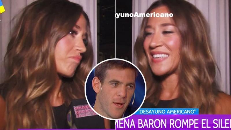 Jimena Barón habló de los rumores de romance y encuentro hot con Del Potro (Foto: web)