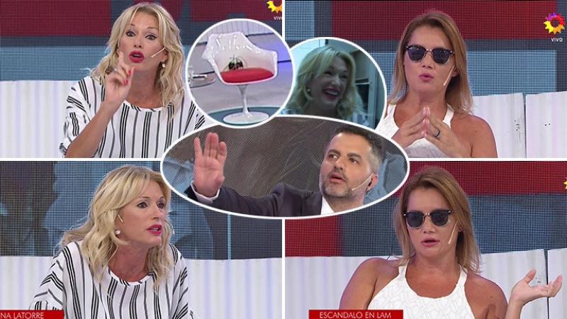 El video con el terrible cruce entre Yanina Latorre y Nancy Pazos en Los Ángeles de la Mañana