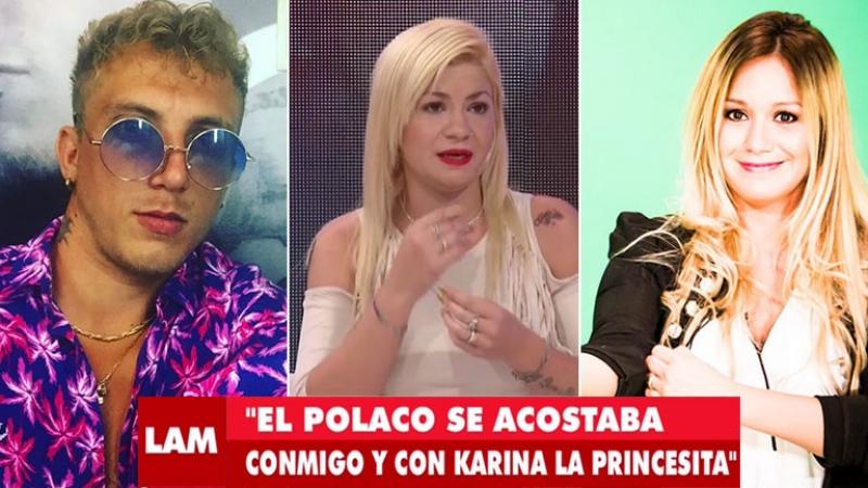Una supuesta amante del Polaco aseguró haber tenido sexo con el cantante… ¡con la Princesita Karina en la misma casa!