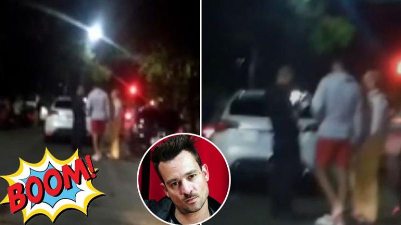 Chano volvió a chocar: embistió dos autos estacionados en la madrugada