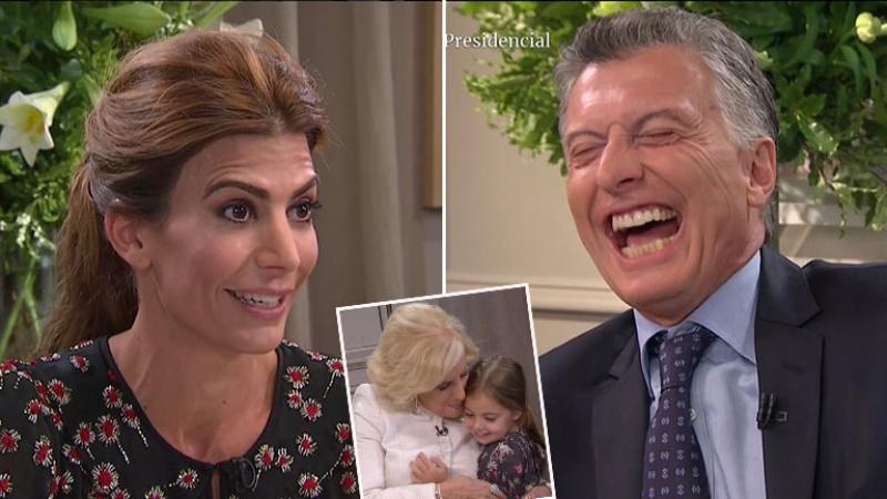 """Macri y Awada, su divertida revelación sobre Antonia: """"¡Dice que va a dormir con nosotros hasta los 30!"""""""